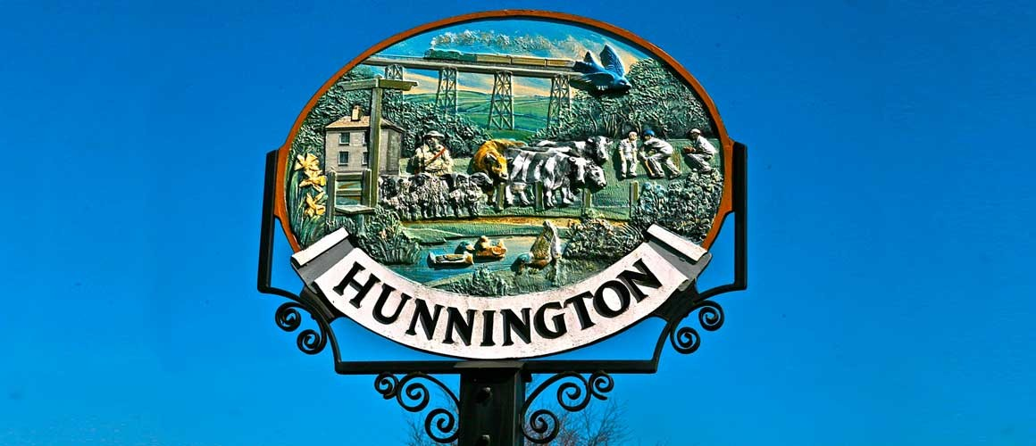 Hunnington Sign