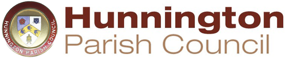 Hunnington Parish Council logo